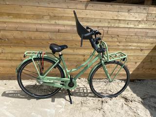 Fiets + fietsstoeltje voor   17,50 per dag